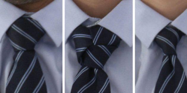 VIDÉO. Nœud de cravate: trois tutos pour la saison des