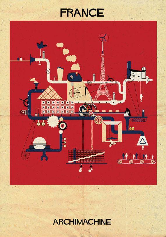 PHOTOS. ARCHIMACHINE: 17 pays représentés en machines