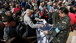 L'est de l'Ukraine vote sur fond de