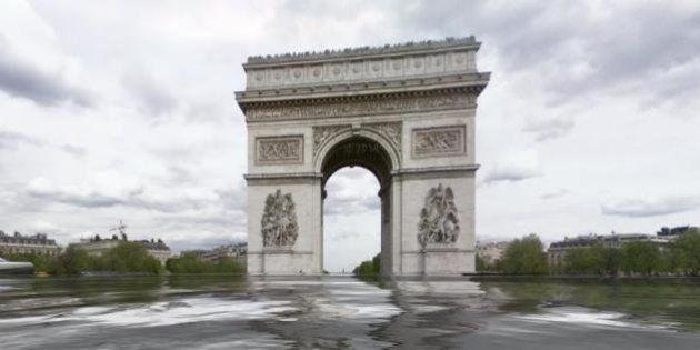 PHOTOS. Changement climatique : la Terre avec Google Street View en cas de montée des