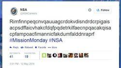 Si vous savez déchiffrer ce tweet, postulez à la