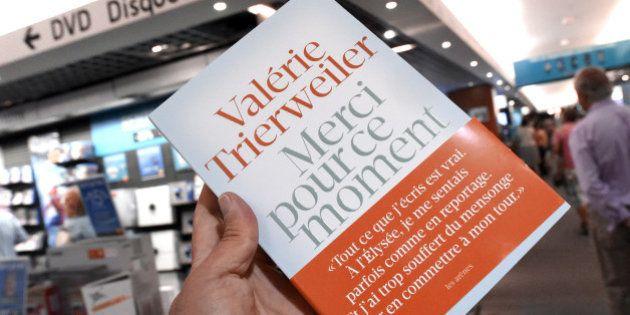 Merci pour ce moment: pourquoi le livre de Valérie Trierweiler s'appelle