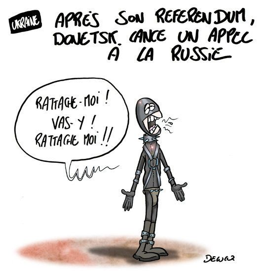 Ukraine: l'appel de Donetsk à la