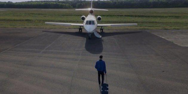 Uber propose des réservations pour aller à Cannes en jet
