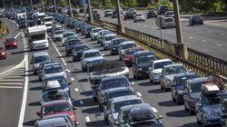 Les prévisions de circulation pour ce week-end de départs en
