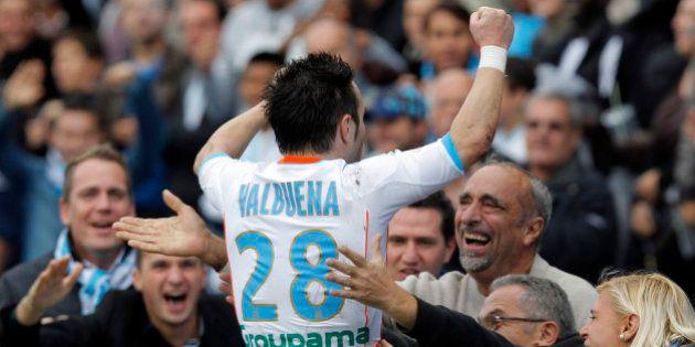 Le numéro 28 de Mathieu Valbuena retiré à