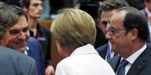 Accord sur la Grèce : pourquoi Hollande a tant voulu d'un compromis avec Merkel et
