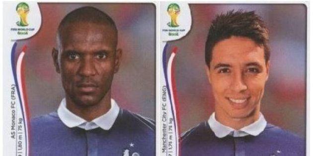 Liste de l'Équipe de France pour la Coupe du monde 2014: Abidal et Nasri, nouvelles vignettes Panini