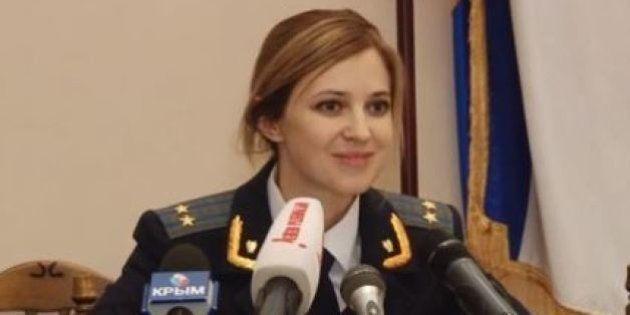 Ukraine: star au Japon, Natalia Poklonskaya parmi les personnalités sanctionnées par l'Union