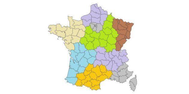 Réforme territoriale : 10 cartes pour inspirer François