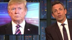Seth Meyers Turns Trump's 'Husband From Hell' Attack On Conway Right Back At