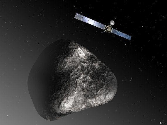 Rosetta a réussi sa mise en orbite sur la comète