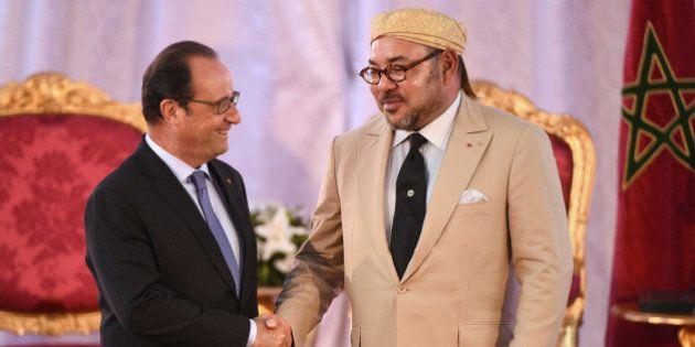 François Hollande à Tanger : la brouille avec le Maroc est