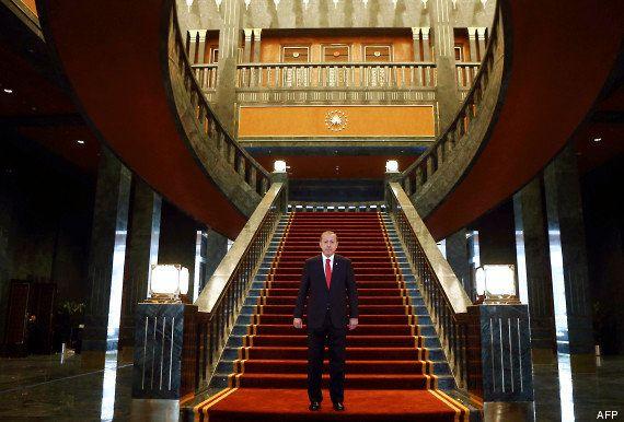 VIDÉO. Turquie: le président Recep Tayyip Erdogan étrenne son gigantesque et controversé