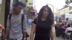 Vidéo sur le harcèlement de rue à New York: voilà pourquoi on ne voit pas d'hommes