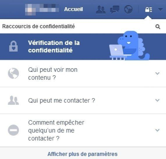 Comment modifier ses paramètres de confidentialité sur Facebook: un dinosaure vous