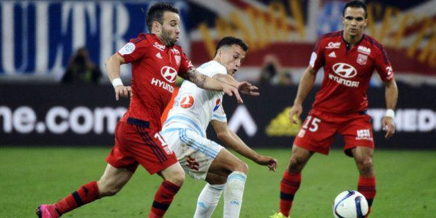 PHOTOS. Ligue 1: le match OM-OL interrompu à cause de jets