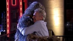 Harrison Ford et Chewbacca