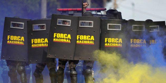 Brésil : manifestants et gouvernement préparent la confrontation avant la Coupe du Monde