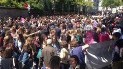 Journée de la jupe: des lycéens s'opposent à la Manif pour