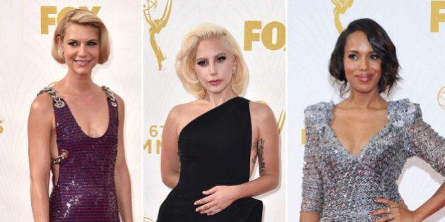 PHOTOS. Aux Emmy Awards 2015, le plus beau couple et les looks remarqués du tapis
