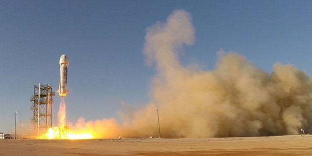 Le patron d'Amazon vient d'inventer la fusée spatiale réutilisable (et c'est
