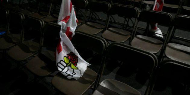 Les adhérents en chute libre au PS: le Parti socialiste relativise malgré la
