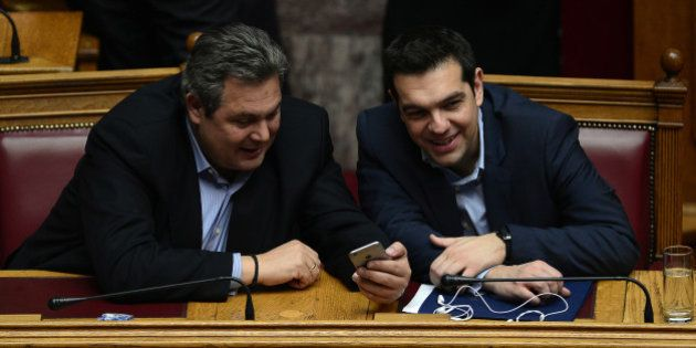 Alexis Tsipras reconduira son alliance avec les souverainistes de droite mais sans ses