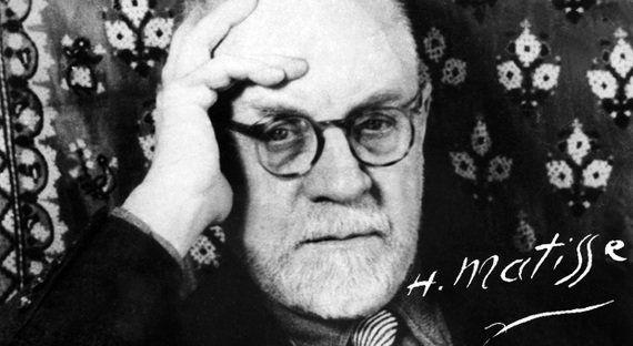 Lettre de Matisse à Henry Clifford: