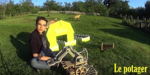 Google science fair: Le robot jardinier made in France d'Eliott Sarrey va-t-il remporter le