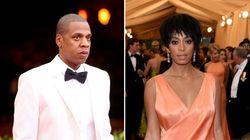 Jay-Z et Solange s'excusent pour la scène dans