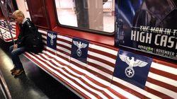 Les pubs de la série Amazon sur l'Amérique nazie retirées du métro à New