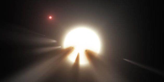 La superstructure découverte dans l'espace n'est qu'un ensemble de comètes explique la