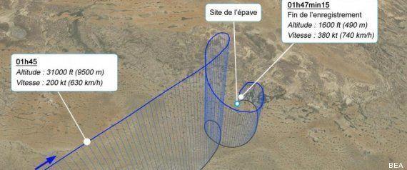 Crash Air Algérie: une boite noire inexploitable mais la trajectoire du vol