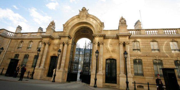 Le portail de l'Elysée s'offre une nouvelle jeunesse plus d'un siècle après son