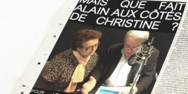 Alain Delon apporte son soutien à Chistine Boutin pour les élections européennes