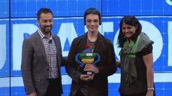 Avec son robot jardinier, ce jeune Français remporte un prix au concours