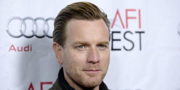Cast member Ewan McGregor poses during the screening of the