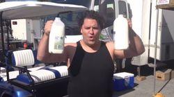 Il boit du lait et se transforme