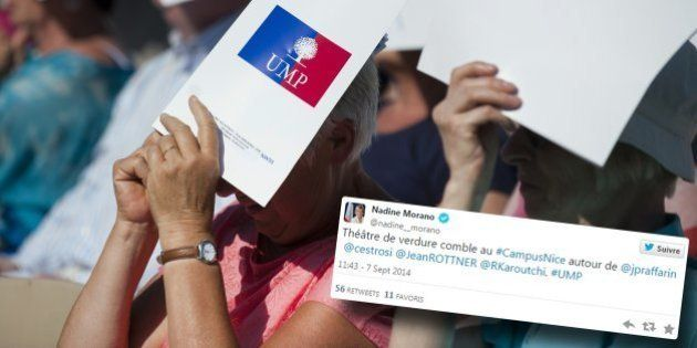 La rentrée de l'UMP ne rassemble les foules ni à Nice ni à La Baule (n'en déplaise à Nadine