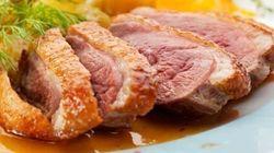 La recette du week-end: magrets de canard aux pommes et oignons