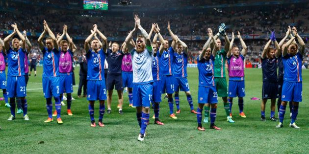 Football Soccer - England v Iceland - EURO 2016 - Round of 16 - Stade de Nice, Nice, France - 27/6/16...