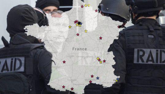 L'état d'urgence dans tous ses états: la carte des