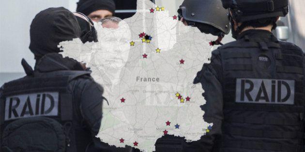 L'état d'urgence dans tous ses états: la carte des plaintes et des