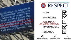 Lettre ouverte à l'UEFA :