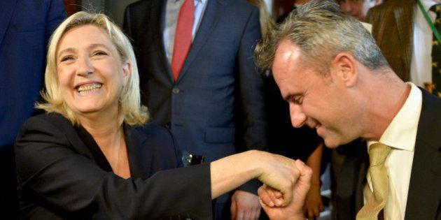 Présidentielle en Autriche: le Front national exulte et s'emballe contre