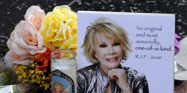 PHOTOS. Joan Rivers : enterrement de star pour l'actrice et animatrice
