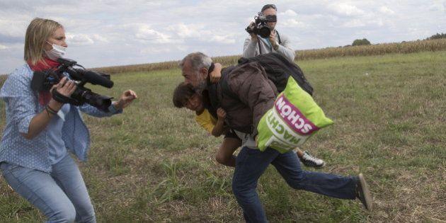 Migrants: le réfugié frappé par une journaliste hongroise bientôt entraîneur de foot en