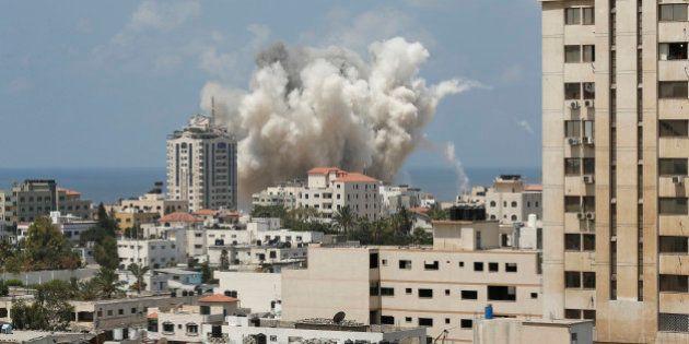 Gaza: après l'échec des négociations, les tirs du Hamas et les frappes israéliennes