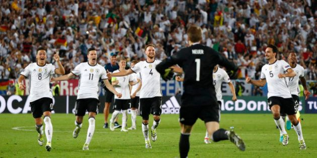 Football Soccer - Germany v Italy - EURO 2016 - Quarter Final - Stade de Bordeaux, Bordeaux, France -...